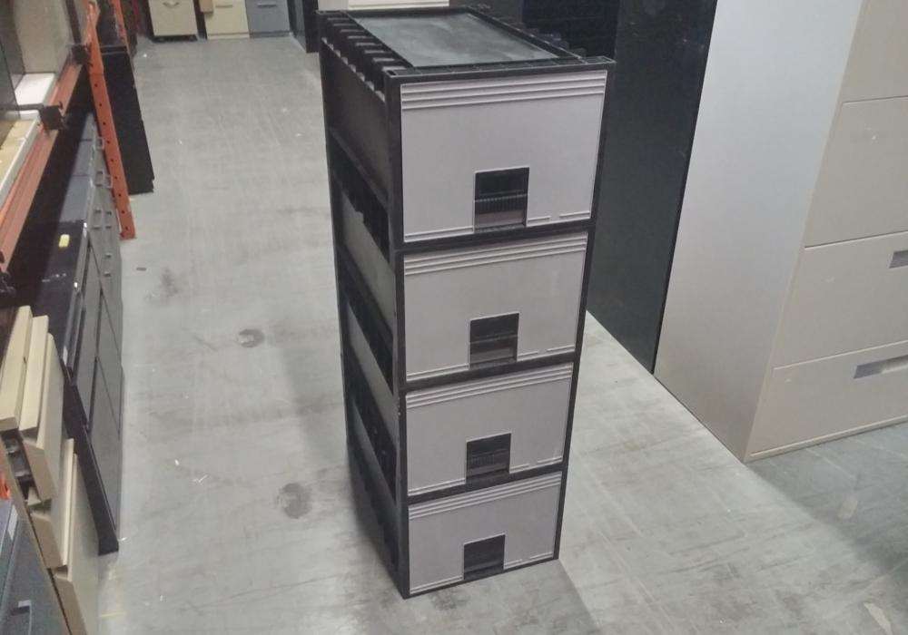 Stackable Plastic Filing Cabinet Toronto Office