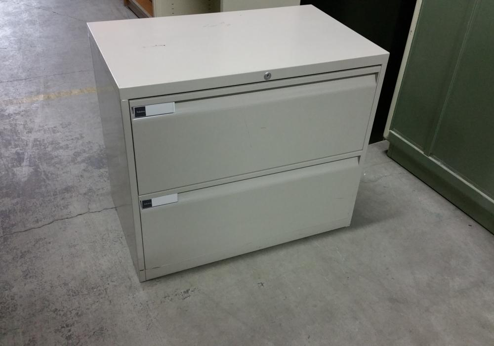 Teknion 2 Drawer Lateral Filing Cabinet - Toronto New & Used ...