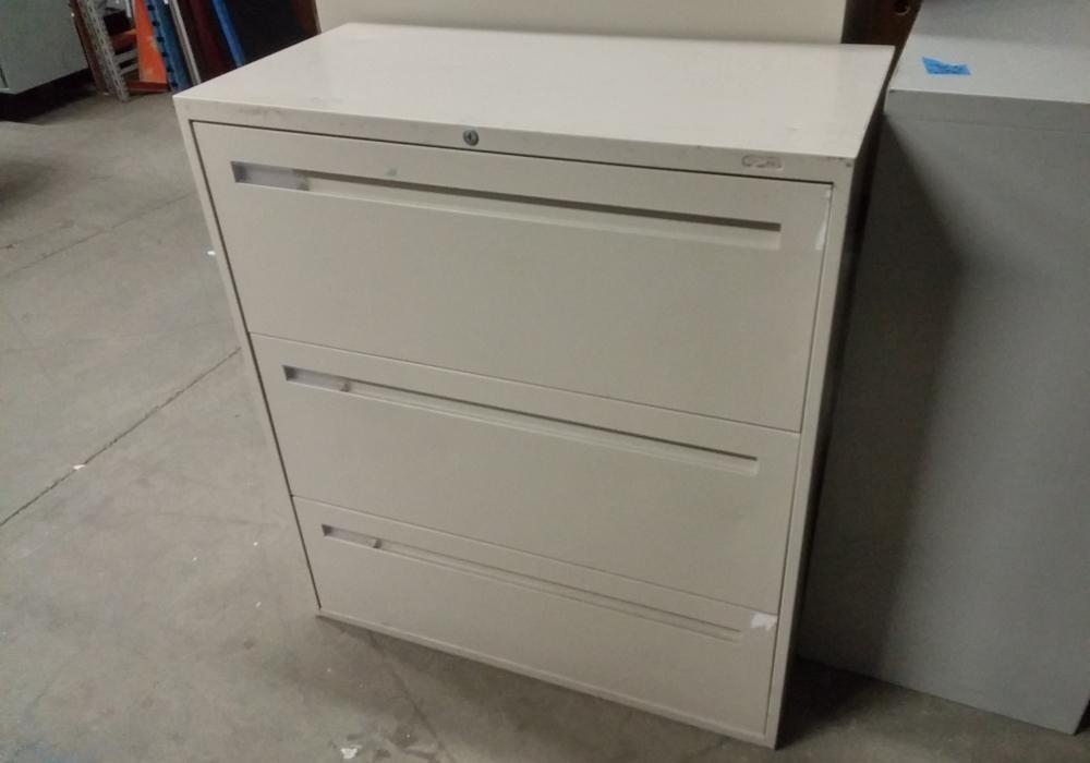 Teknion 3 Drawer Lateral Filing Cabinet - Toronto New & Used ...