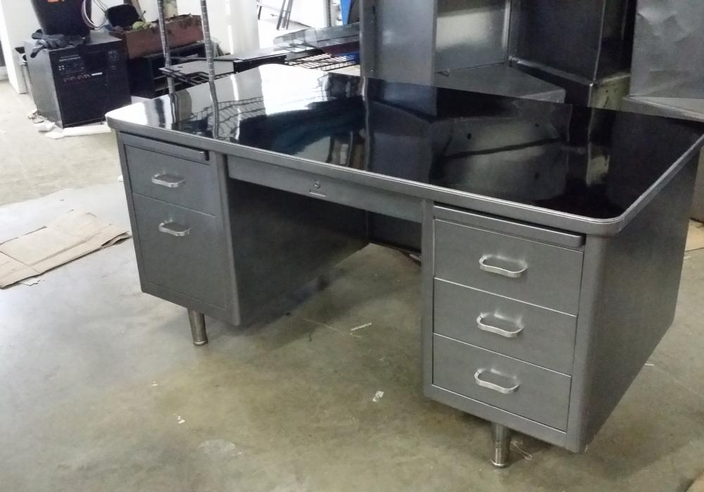 vintage tanker desk toronto new used office furniture officestock