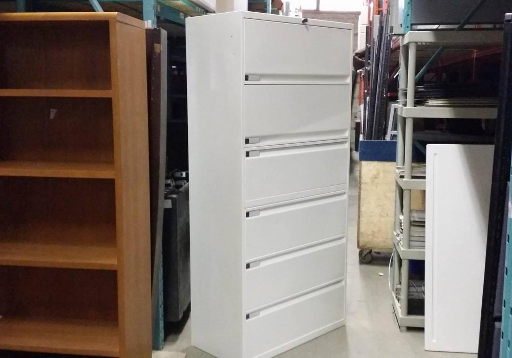 Teknion 6 Drawer Lateral File Cabinet Toronto Office