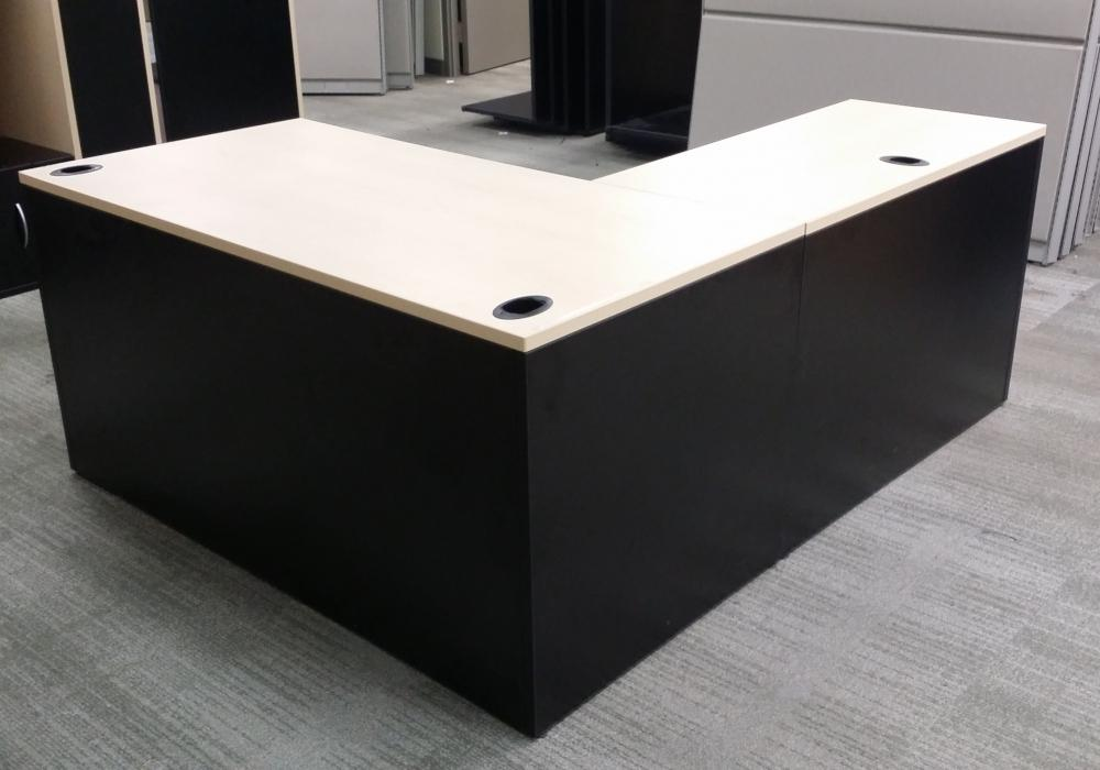 Used Cabinets For Sale >> 6ft X 5ft Tayco Panelink L Shaped Desk - Toronto Office ...
