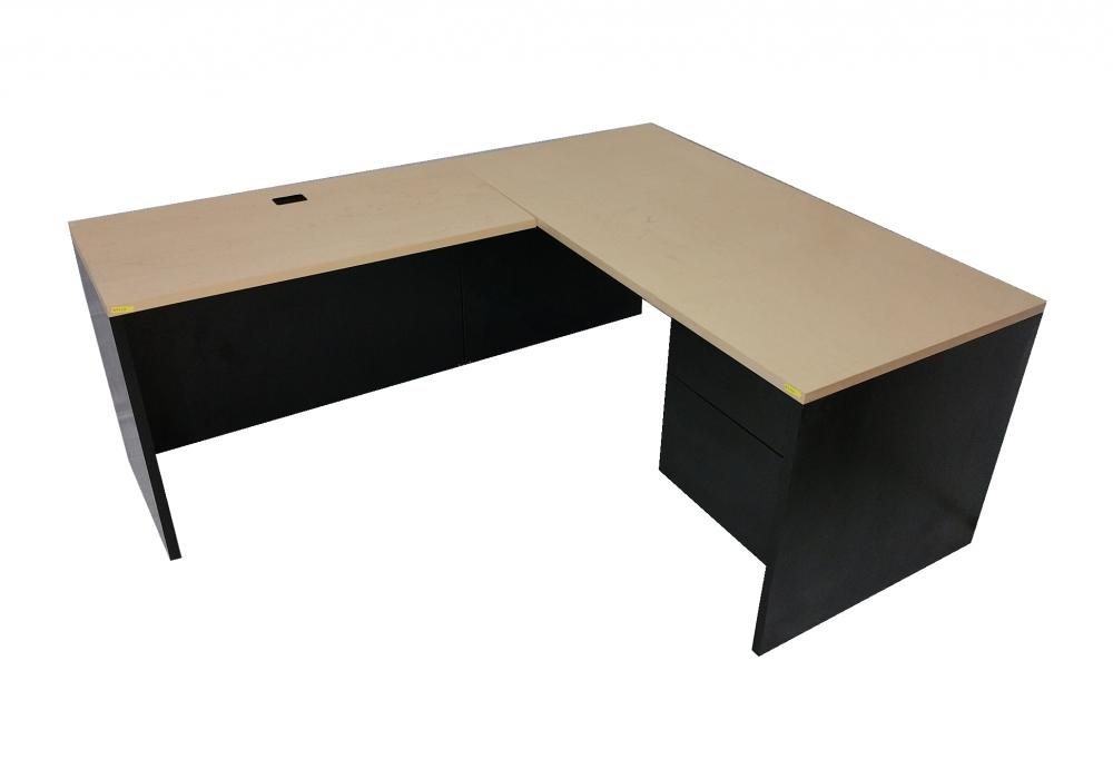 L Shaped Desk Toronto New Used Office Furniture