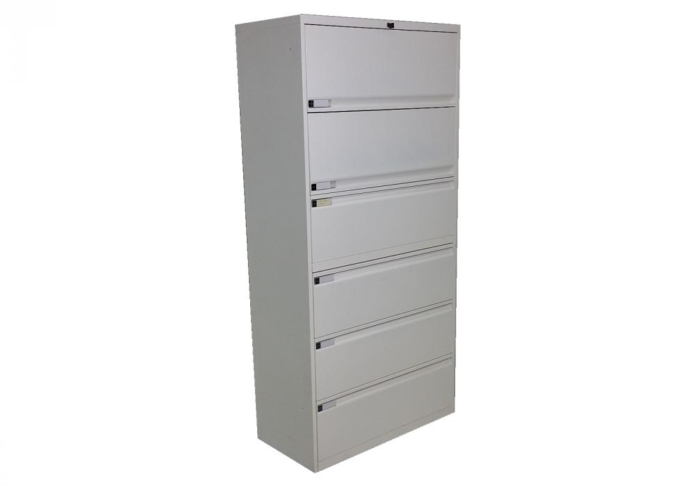 Teknion 6 Drawer Lateral File Cabinet - Toronto New & Used Office ...