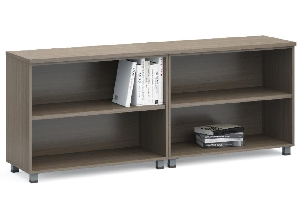Modern Low Open Shelf Credenza Toronto Office Furniture