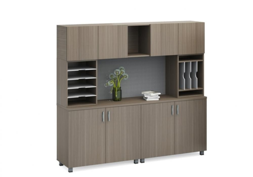 Modern Credenza With Hutch Toronto New Used Office