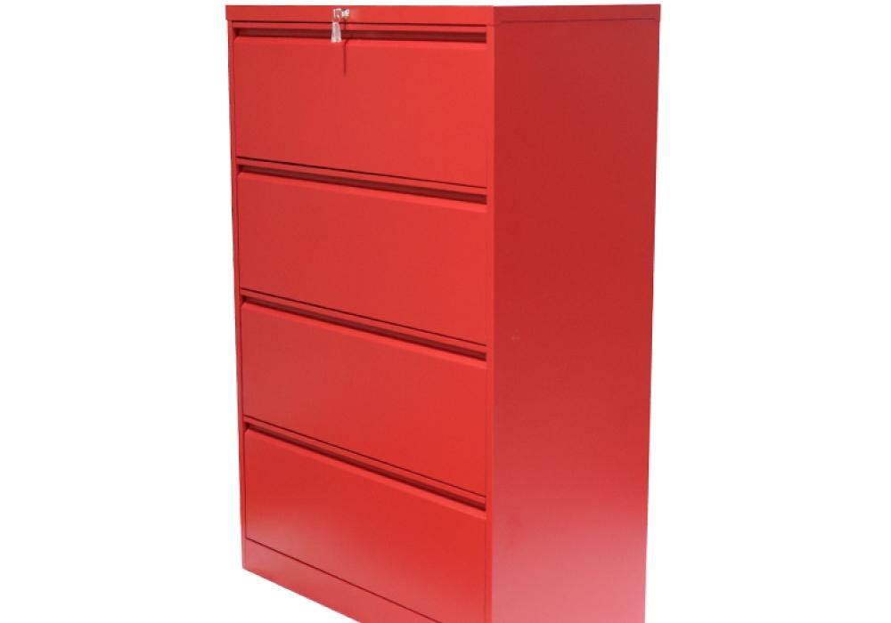 file cabinet png. Perfect Cabinet Professional Matt Red 4 Drawer Lateral File Cabinet On Png
