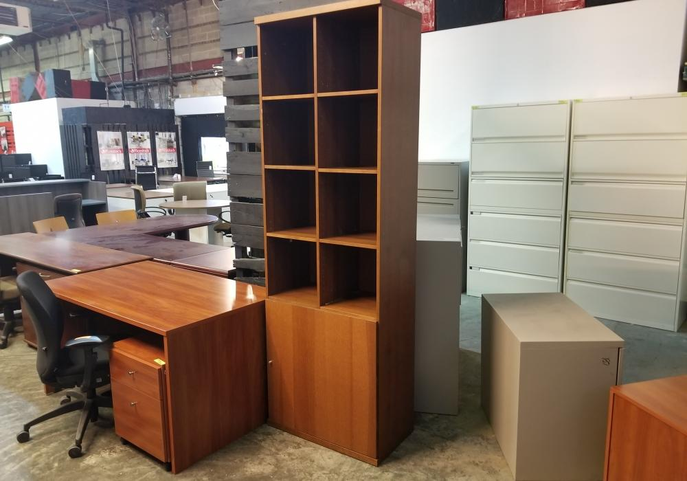 Wooden multi-storage cabinet & Wooden Multi-storage Cabinet - Toronto New u0026 Used Office Furniture ...