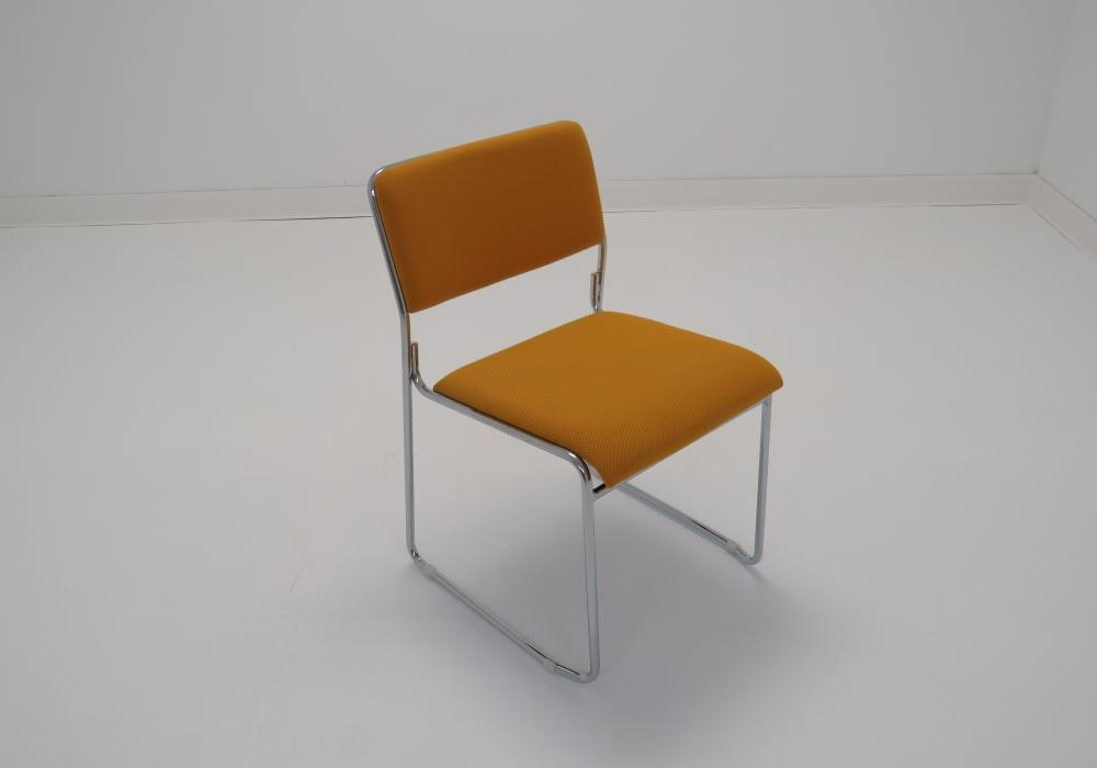 Yellow Orange Stacking Guest Chair Toronto Office