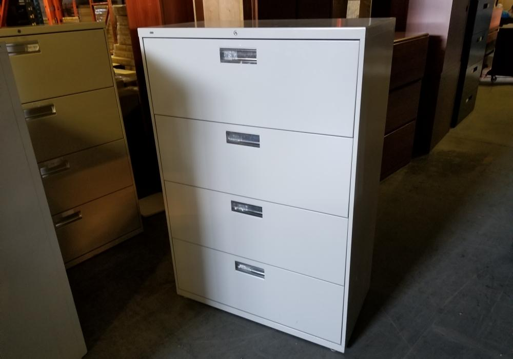 hon 4 drawer lateral file cabinet toronto new used office rh officestock ca hon 4 drawer lateral file cabinet 600 series Hon 2 Drawer Lateral File Cabinet