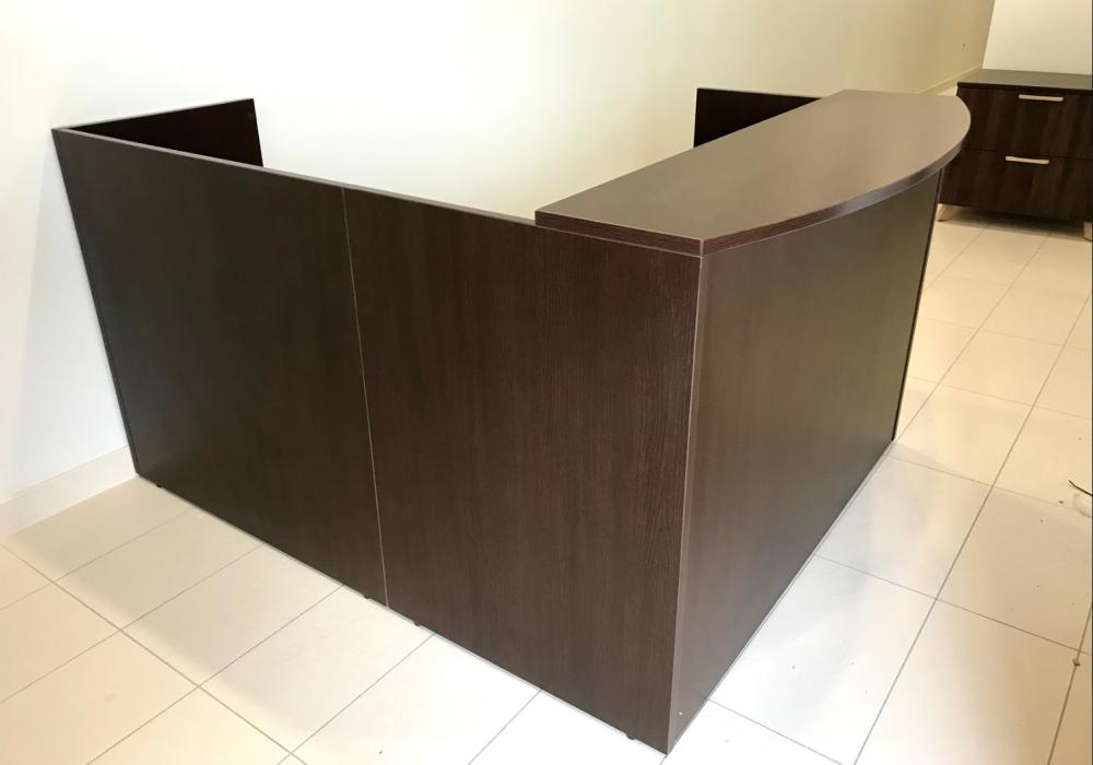Classic 5ft X 6ft Reception Desk Toronto Office
