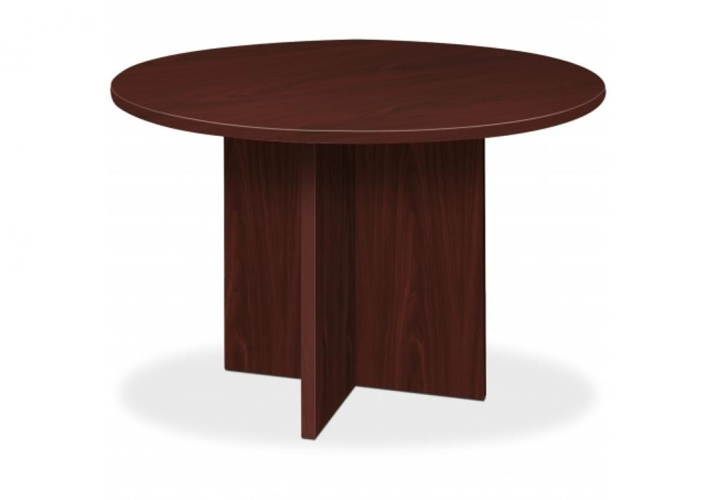 Basyx By HON Round Conference Tables With XBase Toronto New - Hon 42 round conference table