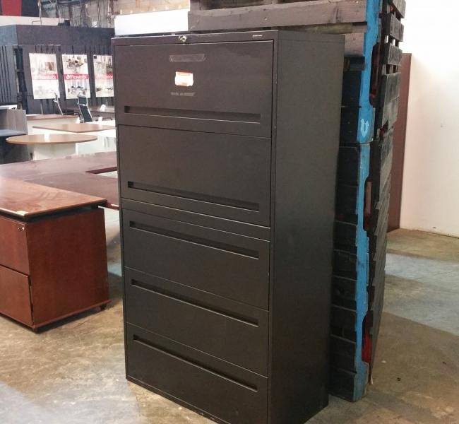 Teknion 5 Drawer Lateral File Cabinet Toronto Office